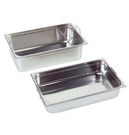 Gastronorm container with recessed handles, GN 2/3 x 100(h) mm