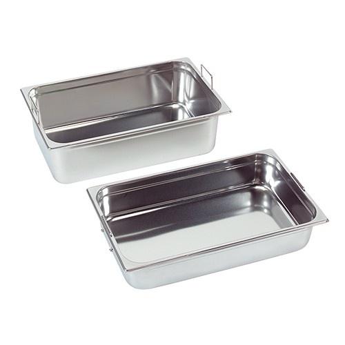 Gastronorm-Behälter mit versenkbaren Griffen, GN 2/3 x 100(h) mm