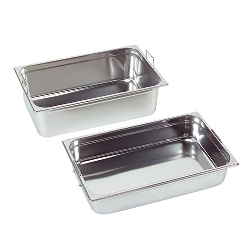 Gastronorm container with recessed handles, GN 1/1 x 150(h) mm