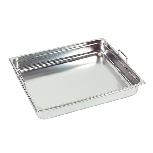 Gastronorm container with recessed handles, GN 2/1 x 100(h) mm