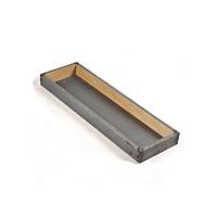Koekbak bakplaat 975 x 260 x 80 mm