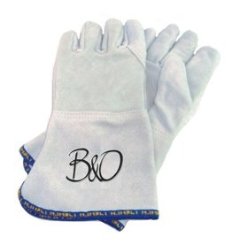 B&O long baking mittens, 5 fingers