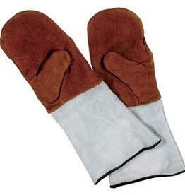 Schneider Leather baking mittens with thumb