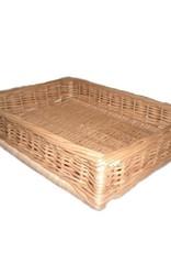 Display wicker basket 50 x 40 x 10 cm
