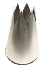 Garnishing tube 6-teeth, 6 mm
