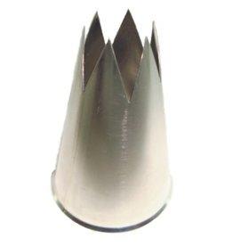 Garnishing tube 6-teeth, 2 mm