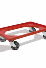 GN containers trolley (stainless steel)