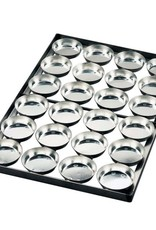 Cake mould tray 100 x 18 (15 moulds)