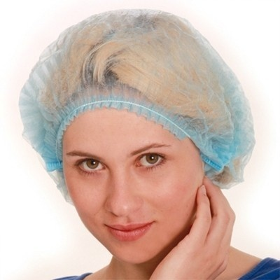 Hygienekappe blau