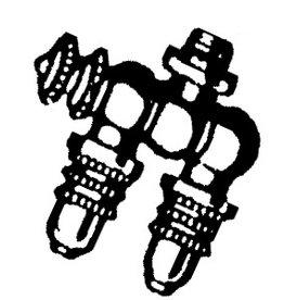 Dubbele sproeikop (waterpistool)