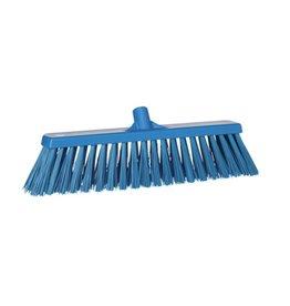 Vikan Hard broom, blue