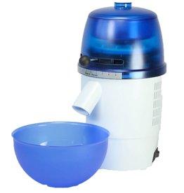 Getreidemühle Novum Blau / Weiß (elektrisch)