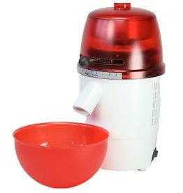 Getreidemühle Novum Rot / Weiß (elektrisch)