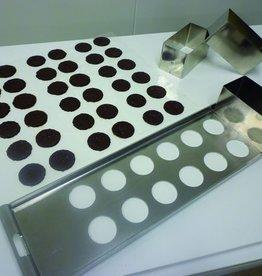 Schokolade Tablett 12 Formen (2 x 6)