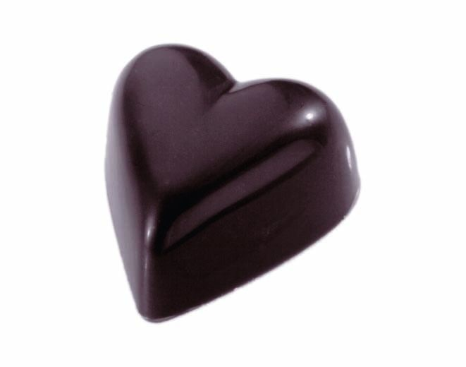 Schneider Kunststoff Praline Form, Herz