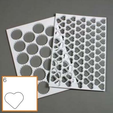 Schneider Kunststof stekervorm hart, met 95 vormen (mat)