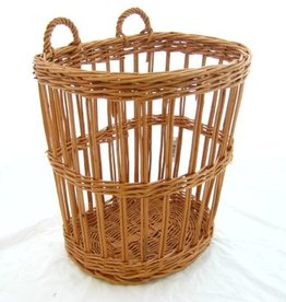 Wicker baguette basket 36 x 30 x 40/47 cm