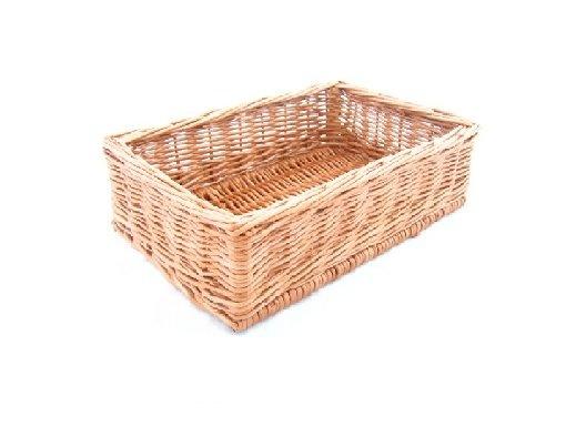 Display wicker basket 30 x 20 x 10 cm