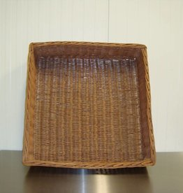 Wicker basket 70 x 70 x 20 cm