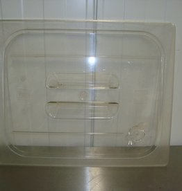 Gastronorm deksel 1/2 GN transparant