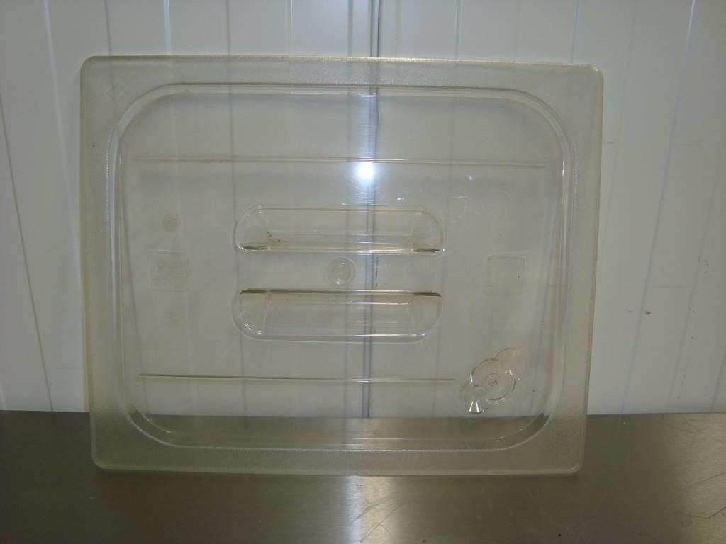 Gastronorm Deckel 1/2 GN transparent