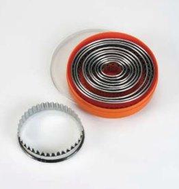 Steckersatz oval, gerändelt