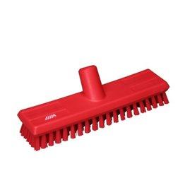 Vikan Vikan scrub broom, red
