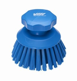 Vikan Vikan Round work brush, blue