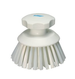 Vikan Vikan Round work brush, white
