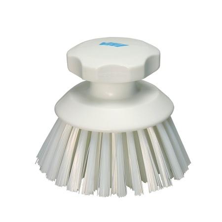 Vikan Vikan Round work brush, white