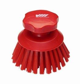 Vikan Vikan Round work brush, red