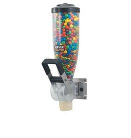 Ice cream topping dispenser