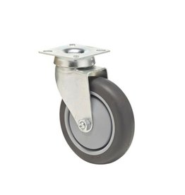 Plate car wheel 100 mm