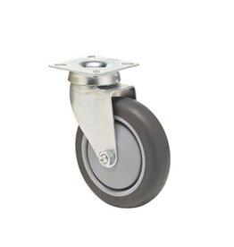 Plate car wheel 125 mm