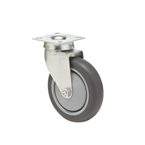 Plate car wheel 125 mm