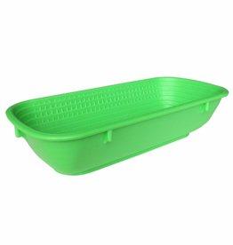 Schneider Plastic bread proofing basket rectangular 500g