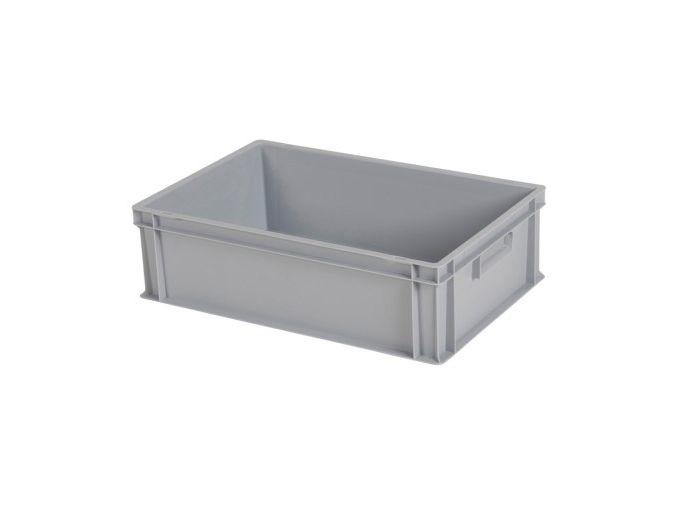 Kunststoff Behälter 600x400x170 (h) mm, geschlossen