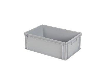 Kunststoff Behälter 600x400x220 (h) mm, geschlossen