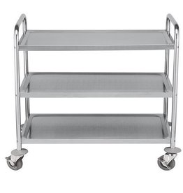 Serving trolley, 3 shelves