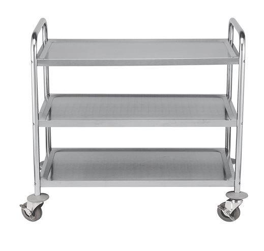 Serving trolley, 3 shelves