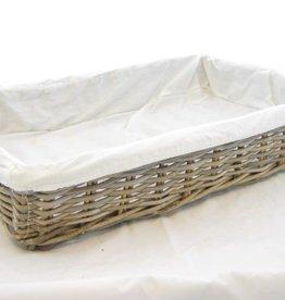 Korb Artisan mit Stoff 60 x 40