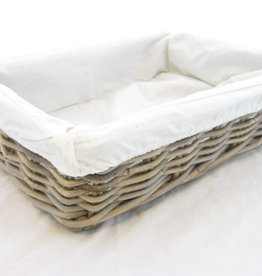 Bread basket Artisan with Textile 40 x 30