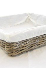 Bread basket Artisan with Textile 40 x 40