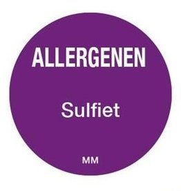 Allergy labels - sulfite