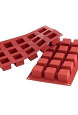 Silikomart Siliconen bakmat GN1/3 - kubus