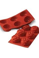 Silikomart Siliconen bakmat GN1/3 - roos
