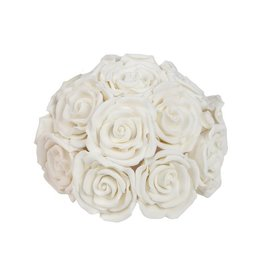 Roses white bouquet