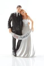 """Bruidspaar """"Just Married"""""""