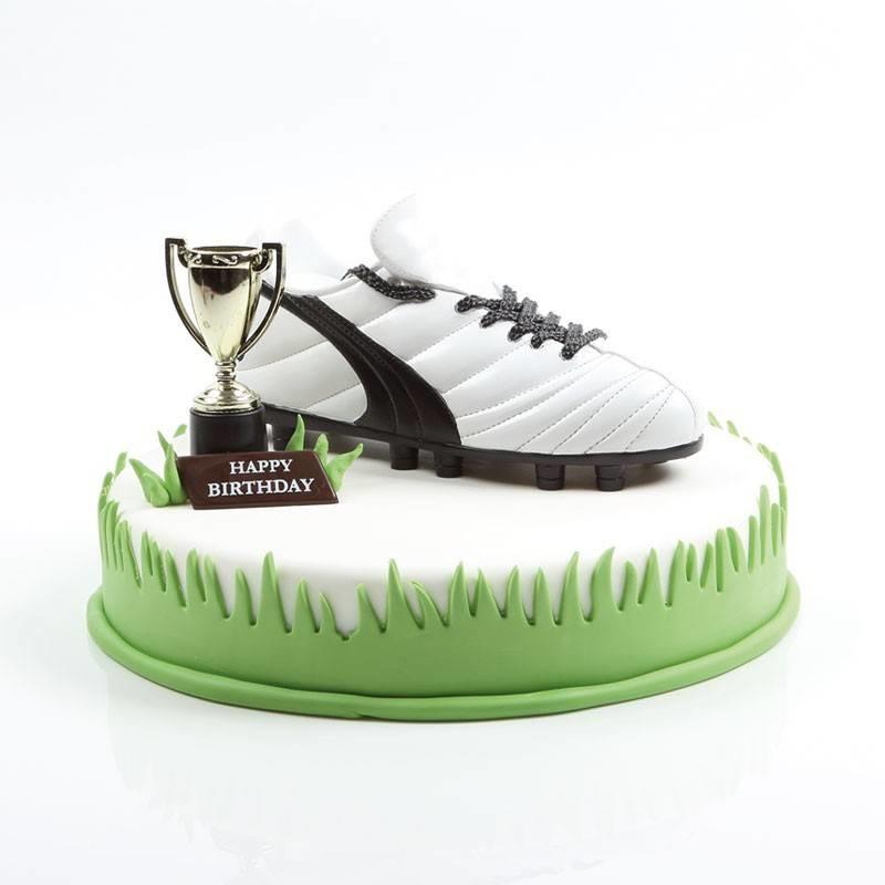 Sparbüchse Fußballschuh 18 x 8 cm
