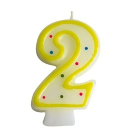 Number candle no. 2  (24 pieces)